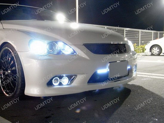Toyota - Mark - X - Reiz - LED - DRL - CCFL - Angel - Eye